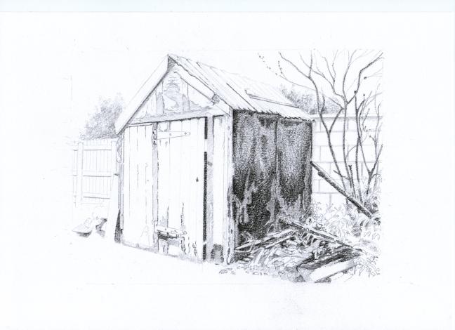 Doug & Jean's shed